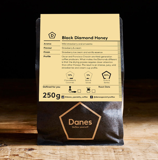 Costa Rica Black Diamond Honey
